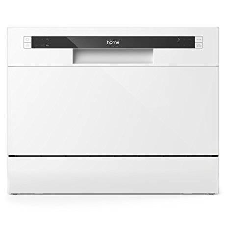Compact HOmeLabs dishwasher with a dishwasher with a dishwasher with a dishwasher with a dishwasher with a dishwasher with a dishwasher with a dishwasher with a dishwasher with a dishwasher with a dishwasher with a table top.