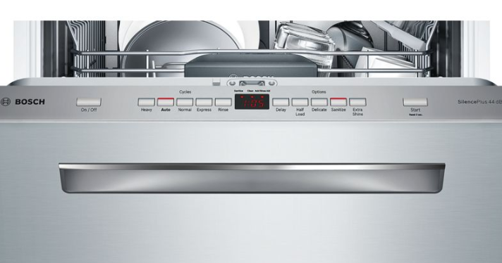 dishwasher control of the 500 series