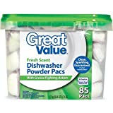 Dishwashing powder kits with a fresh and cheap scent and grease rings ...
