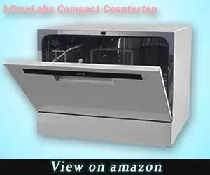 HOMELabs counter top dishwasher