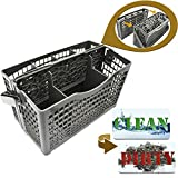 Silver Dishwasher basket Universal - Symbol for clean dirty magnets -...