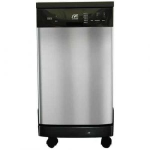 SPT SD-9241SS 18-inch Energy Star portable dishwasher