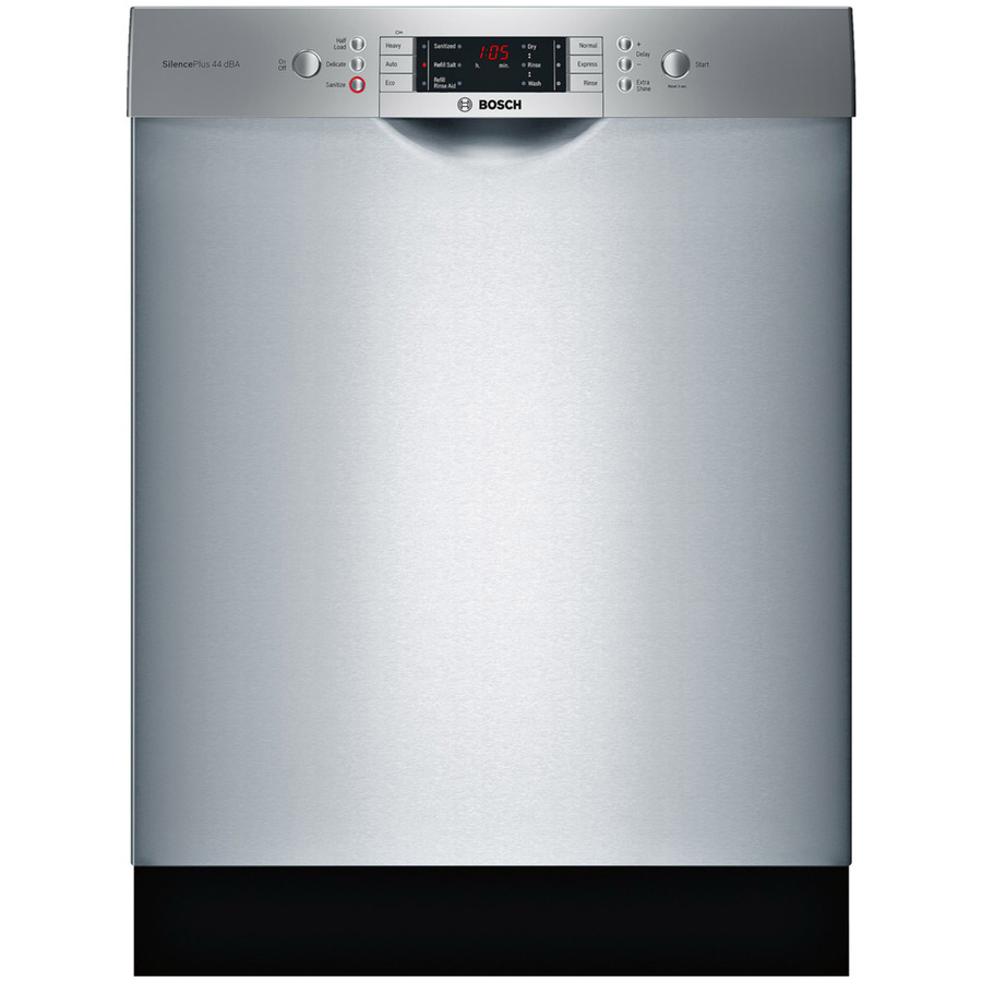 The Bosch 800 Series longitudinal handle dishwasher has been voted the best dishwasher in its class.