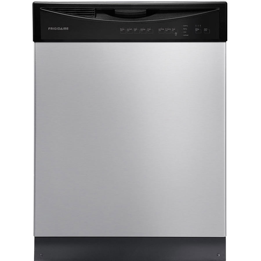 The Frigidaire 55-Decibel integrated dishwasher is considered the best 18-inch dishwasher.